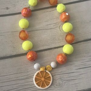 Other - Little girls bubble gum bead necklace.